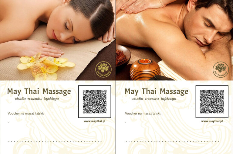 Thai massage e-voucher