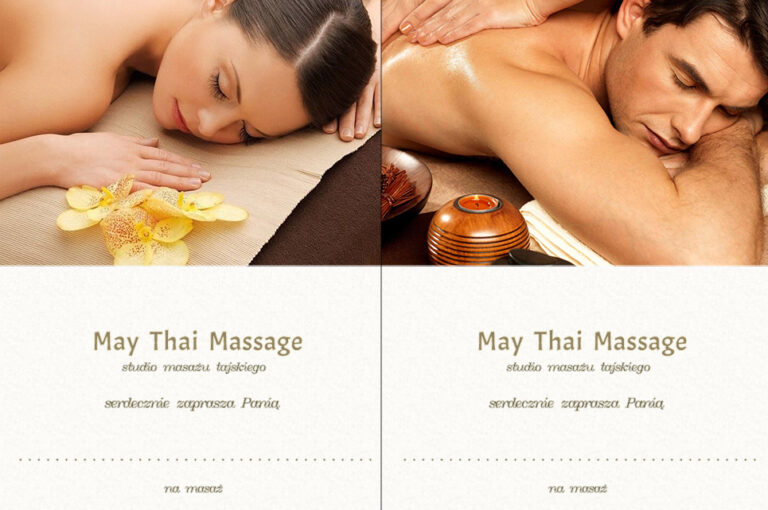Thai massage voucher
